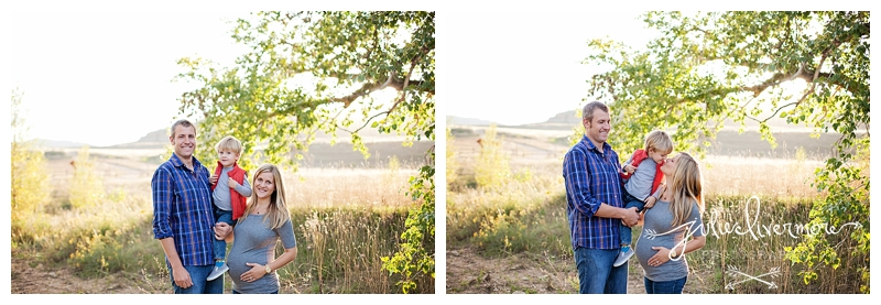 cute maternity photos fort collins