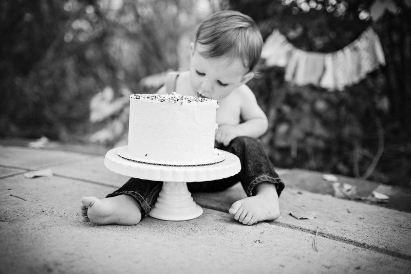 Denver First Birthday Cake | www.julielivermorephotography.com