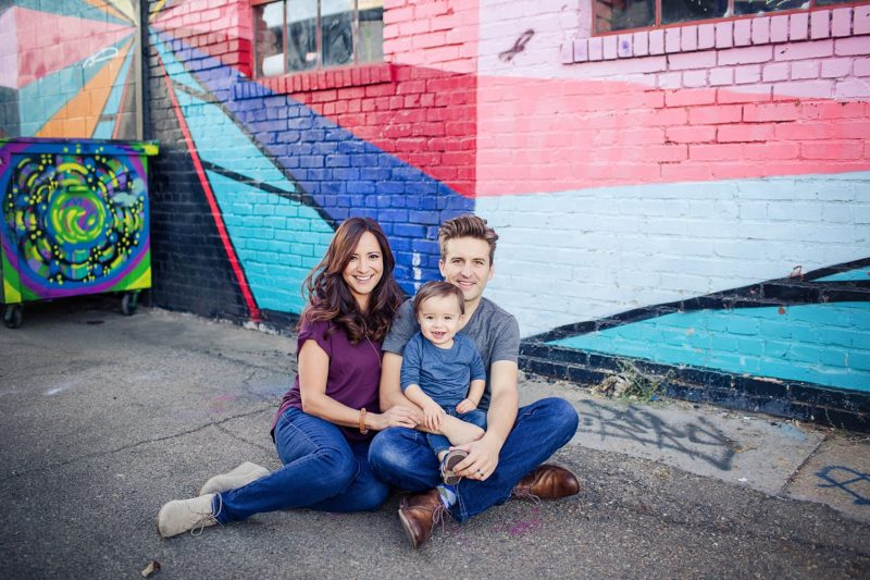Downtown Denver Family Photography | www.julielivermorephotography.com