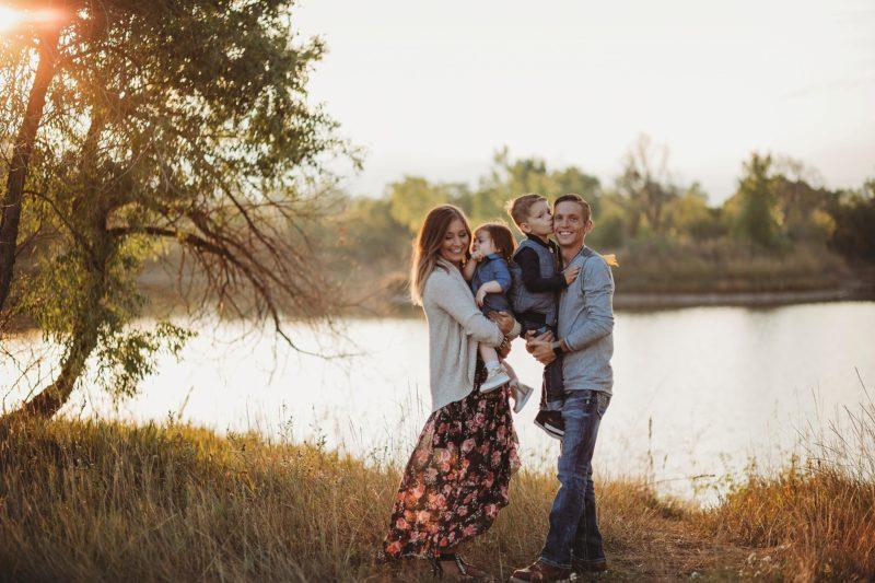 Denver Family Fall Photos   www.julielivermorephotography.com