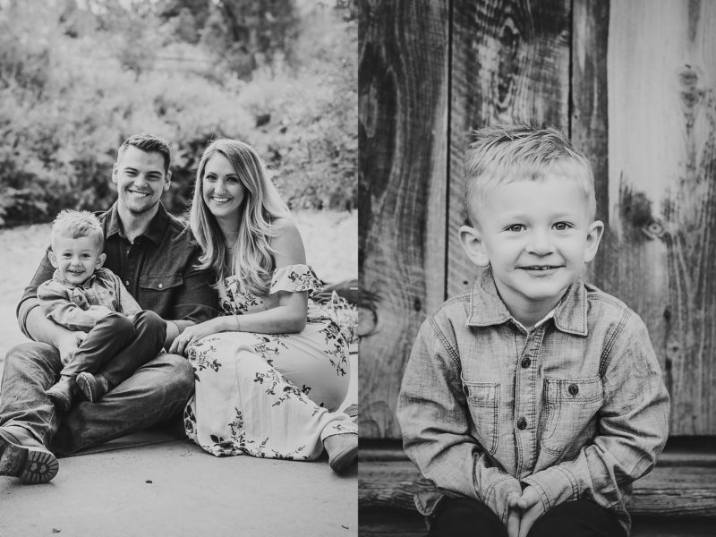 Denver Fall Family Photos | www.julielivermorephotography.com