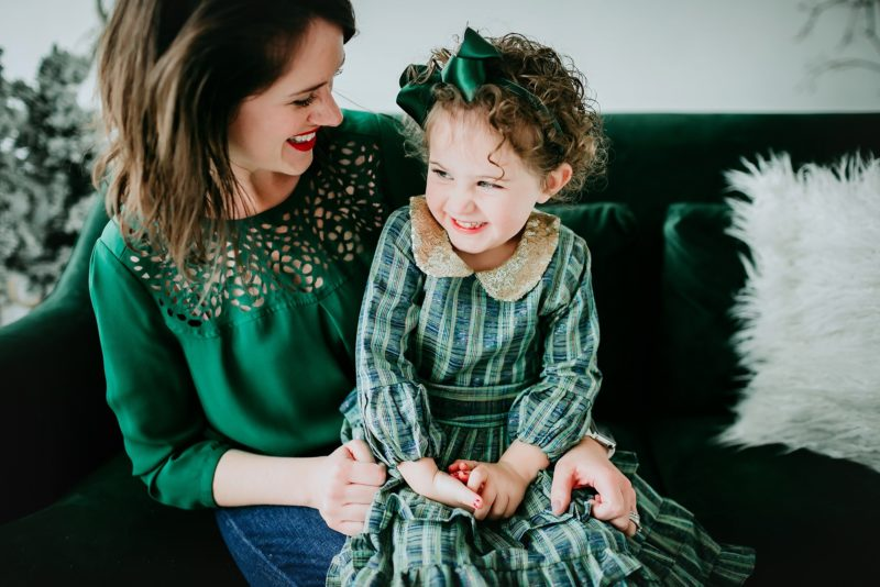 Denver Holiday Mini-Session Photographer | www.julielivermorephotography.com