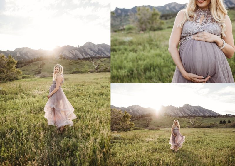 Boulder Maternity Photo Session