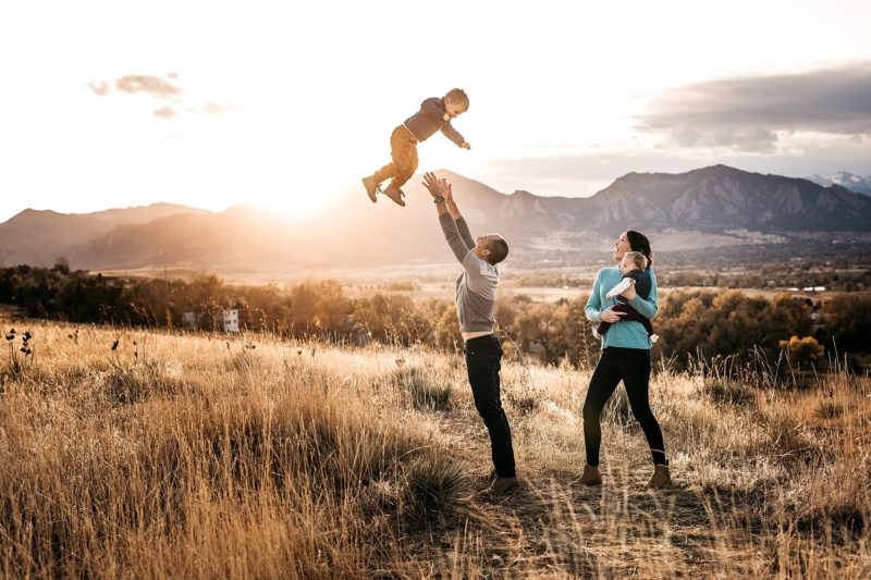 Boulder Family Session