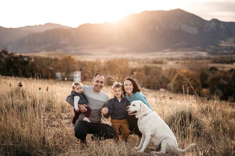 Family Portrait Session in Denver