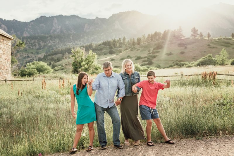 Summer Family Session in Boulder | www.julielivermorephotography.com