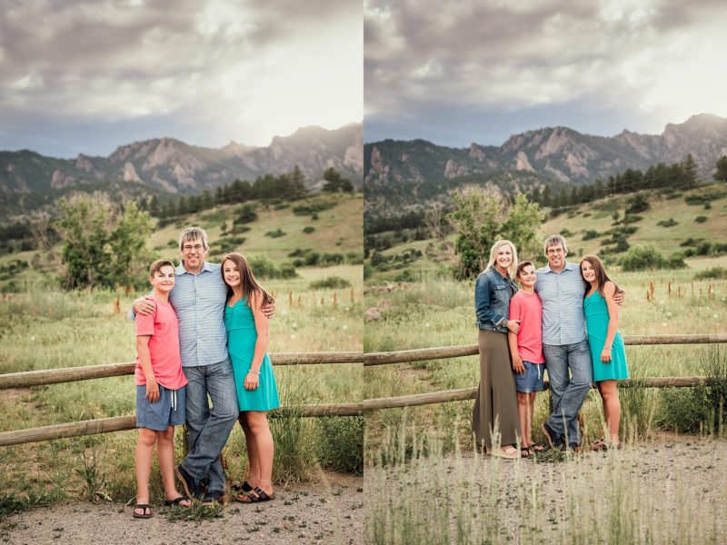 Family of Four in Boulder | www.julielivermorephotography.com