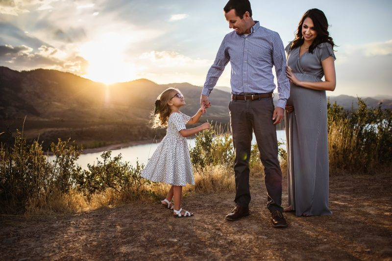 Boulder Colorado Maternity Session
