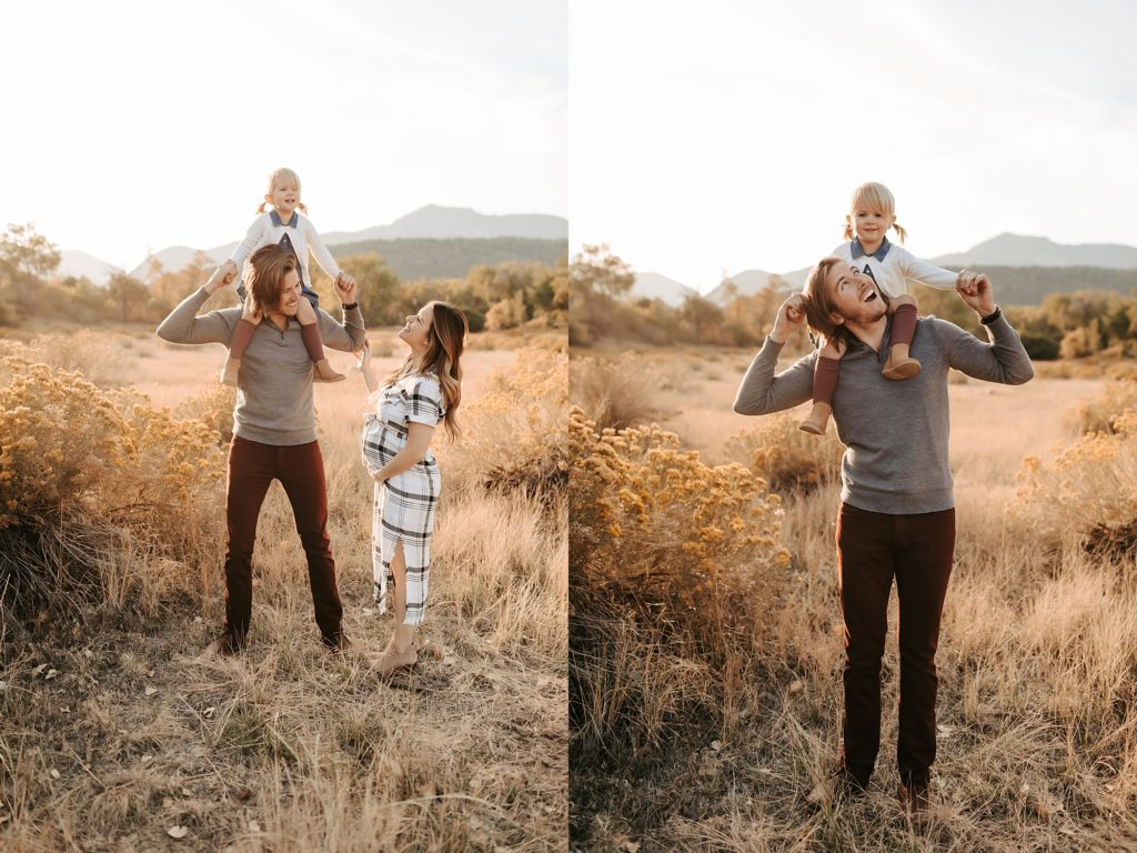 Denver Fall Maternity Portraits