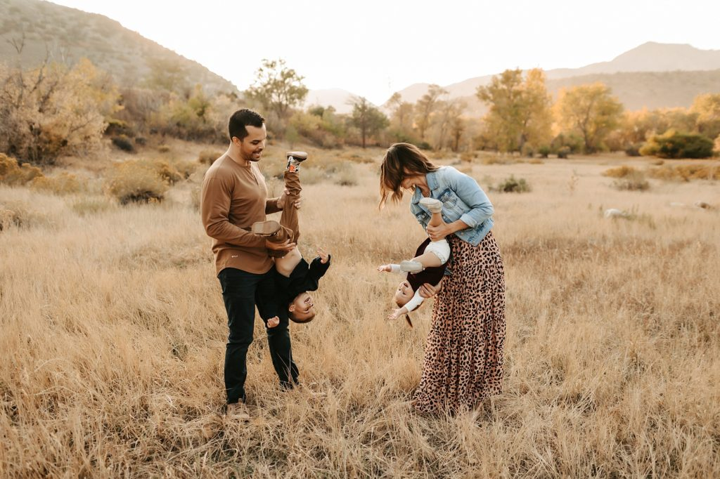 Family Photos in October