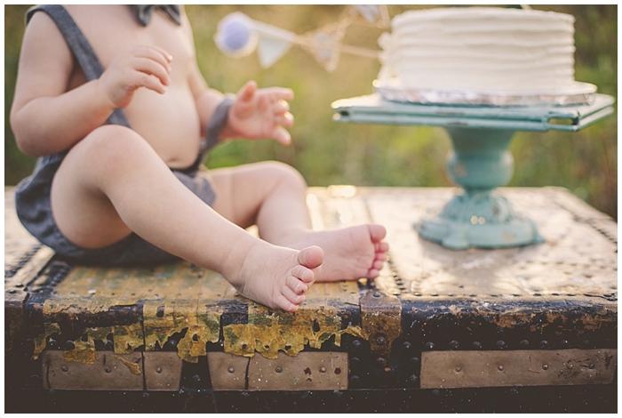 Denver Cake Smash Photography