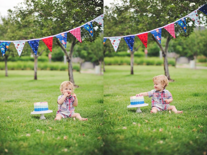 Denver Cake Smash Photographer