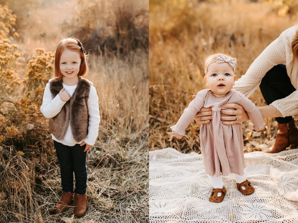 Colorful Fall Family Photos