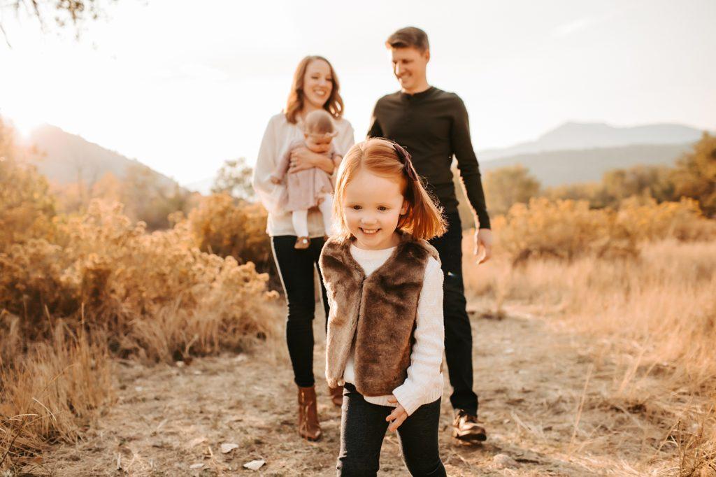 Boulder Fall Family Photos