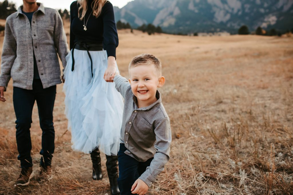 Boulder Family of three