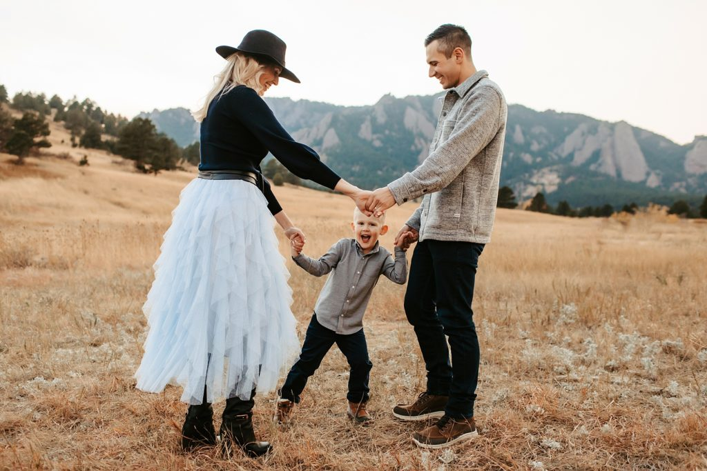 Boulder Foothill Family Photos