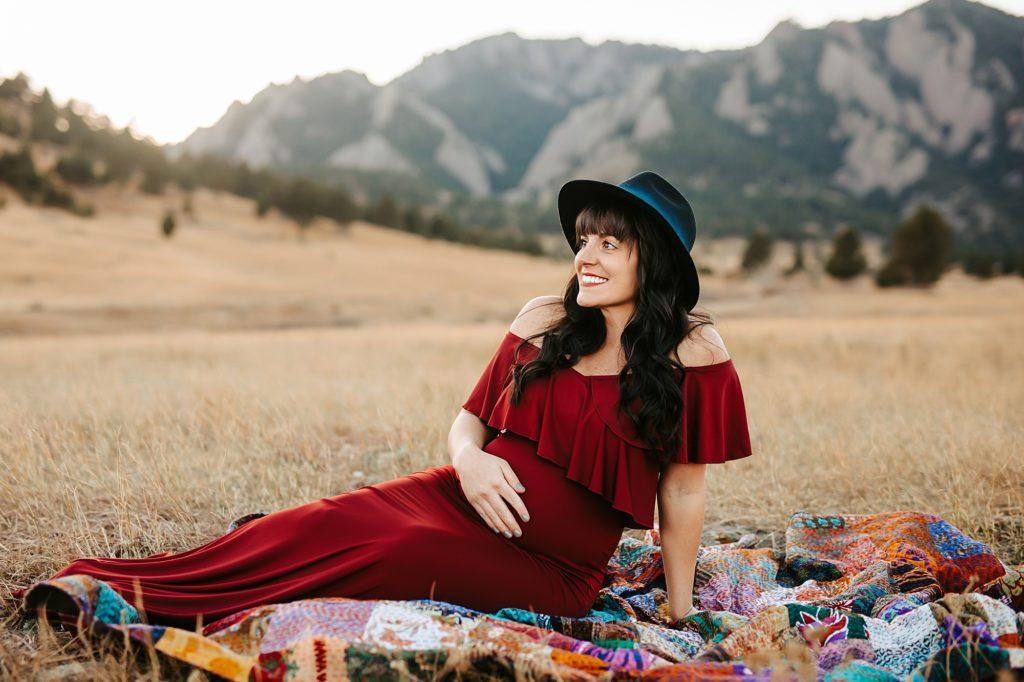 bouder maternity photographer