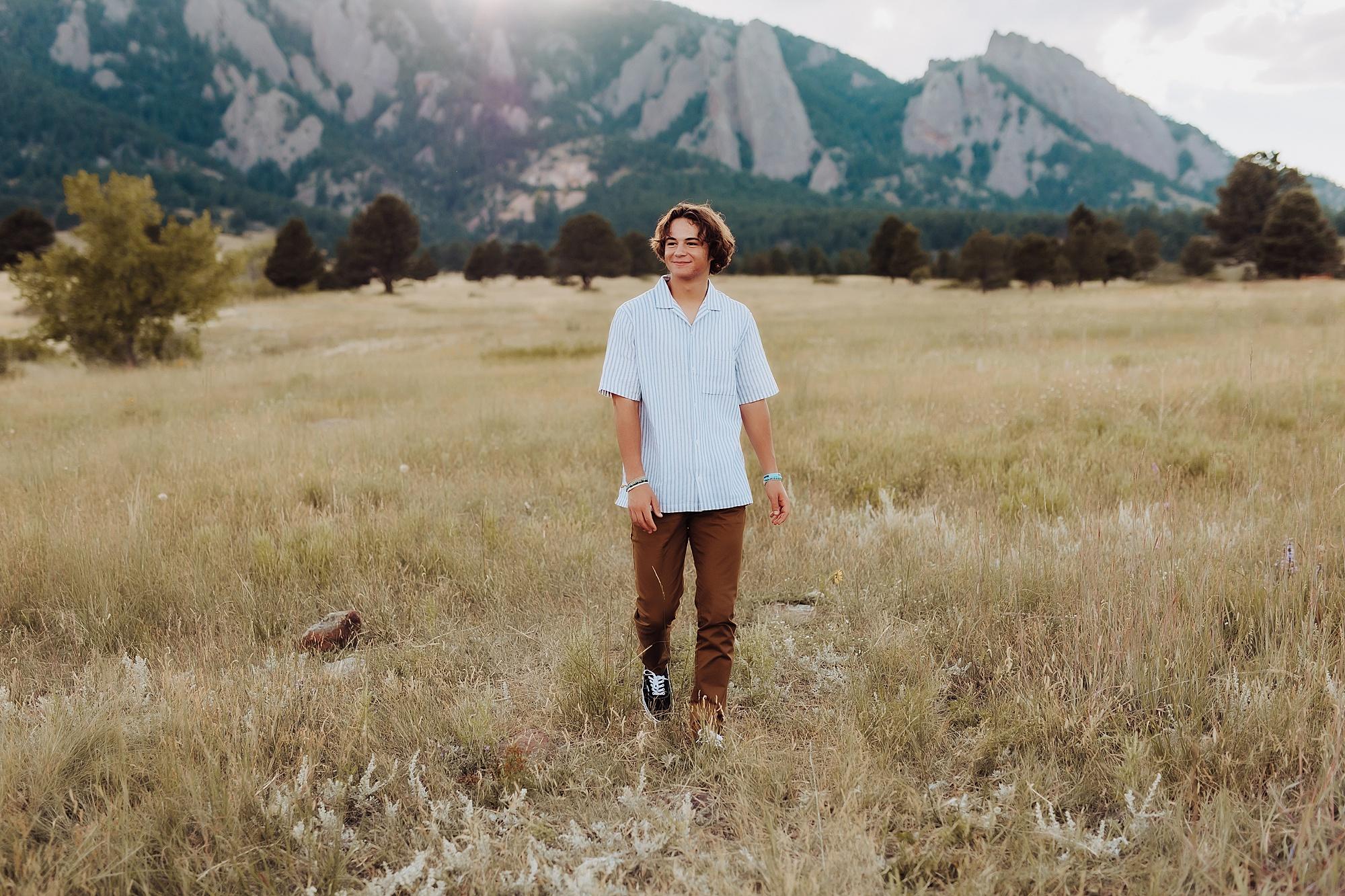 mountain senior photo