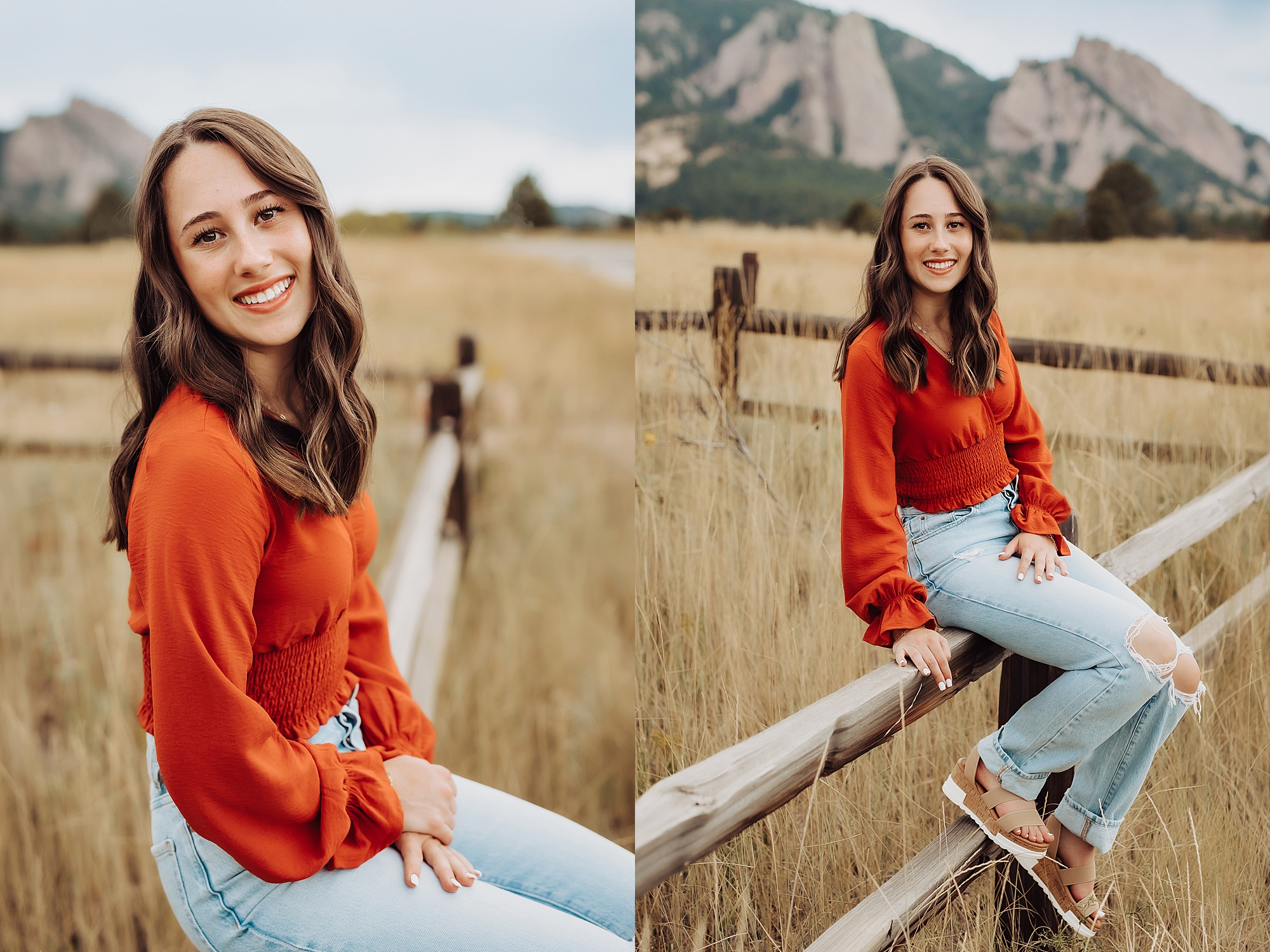 Boulder senior portrait session